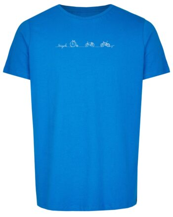 Basic Bio T-Shirt (men) Bicycle Line royal blue