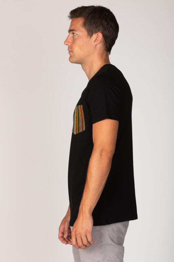 Basic Bio Taschen Shirt (men) Fine Line Black
