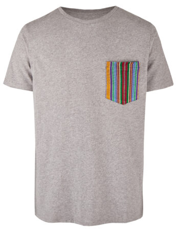 Basic Bio Taschen Shirt (men) Ipanema Grey
