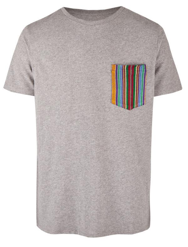 Basic Bio Taschen Shirt (men) Ipanema Grey