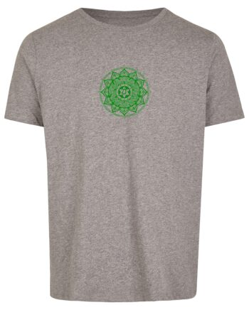 Basic Bio T-Shirt (men) Anahata Chakra grey