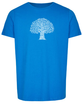 Basic Bio T-Shirt (men) Life Tree Royal Blue