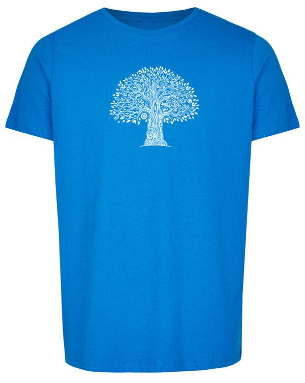 Basic Bio T-Shirt (men) Life Tree Royal Blue