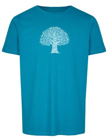 Basic Bio T-Shirt (men) Life Tree Petrol