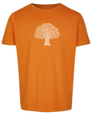Basic Bio T-Shirt (men) Life Tree Red Sand