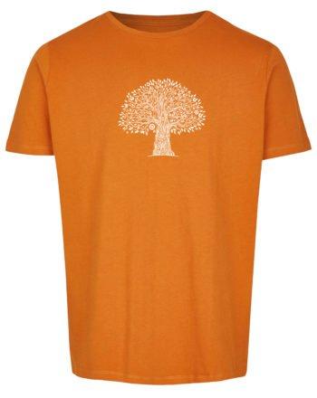 Basic Bio T-Shirt (men) Life Tree Red Sand