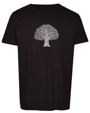 Basic Bio T-Shirt (men) Life Tree Black