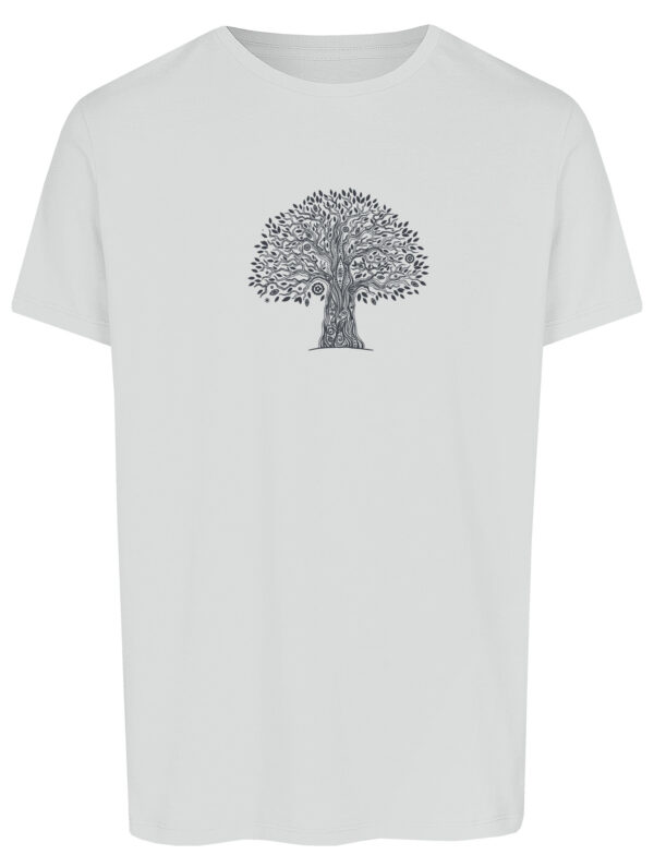 Basic Bio T-Shirt (men) Life Tree White
