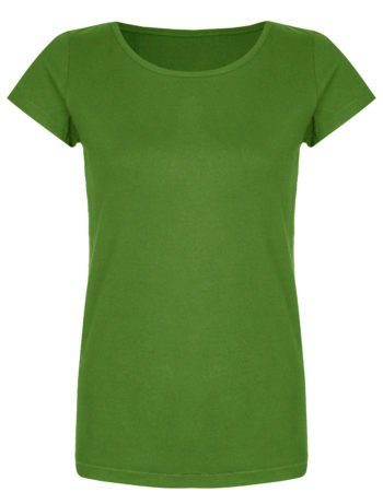 Basic Bio-T-Shirt Rundhals (Ladies) Nr.2 Green