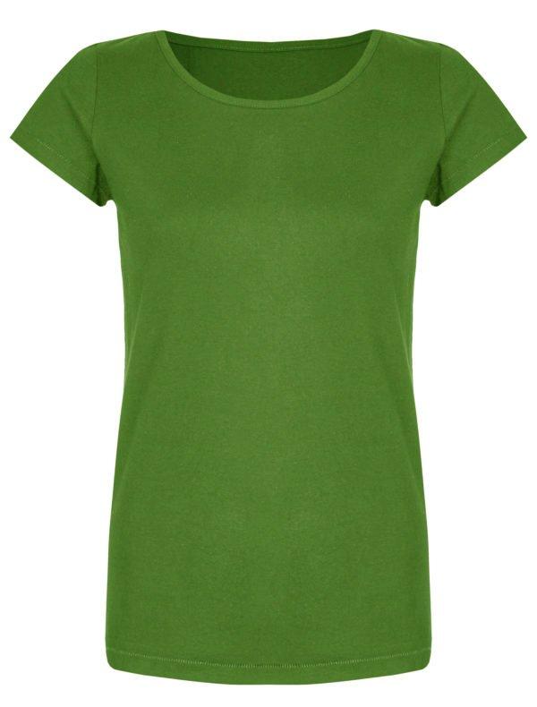 Basic Bio-T-Shirt Rundhals (Ladies) Nr.2 Green