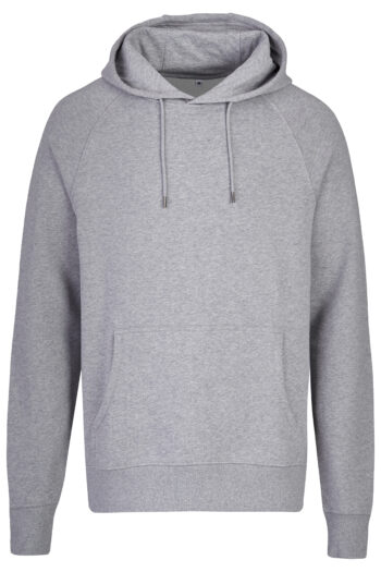 Basic Bio Hoody Nr.2 grey (men) GOTS