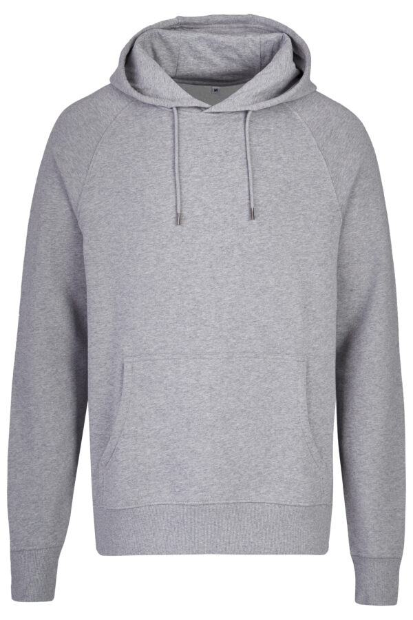 Basic Bio Hoody Nr.2 grey (men) GOTS