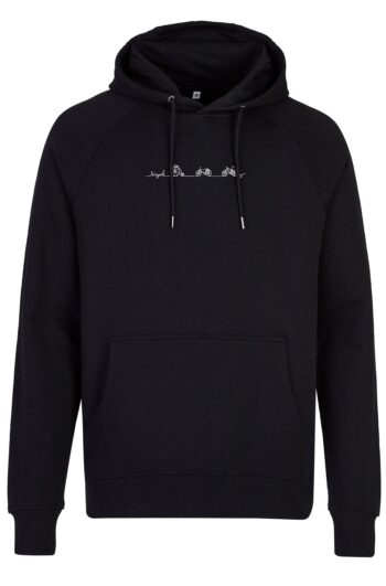 Basic Bio Hoody Nr.2 black bicycle line