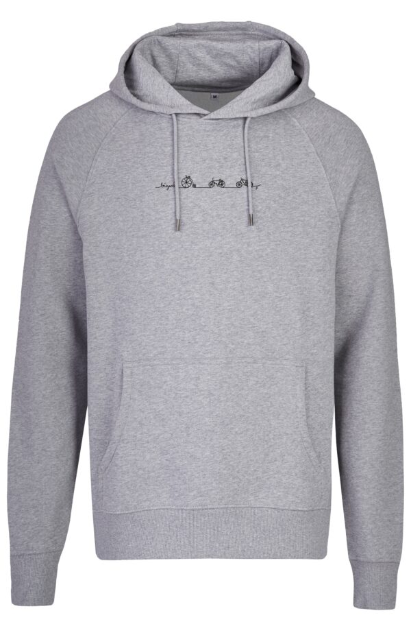 Basic Bio Hoody Nr.2 grey bicycle line