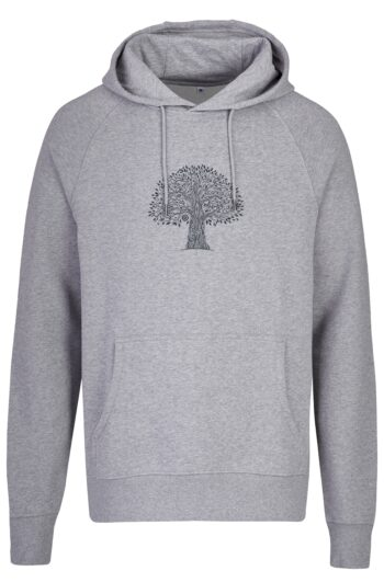 Basic Bio Hoody Nr.2 grey treelife